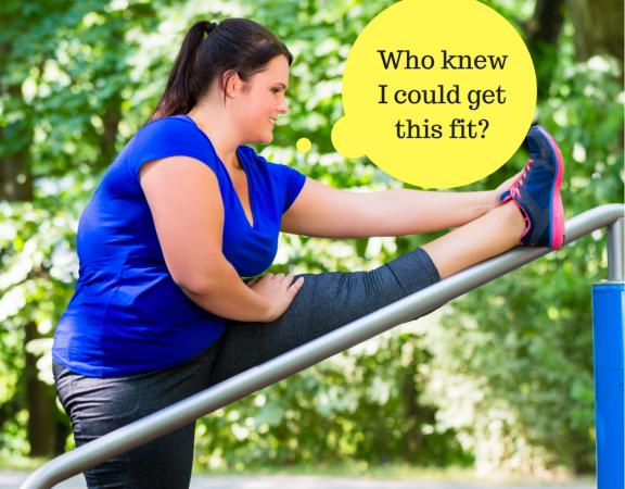 Obese starting exercise