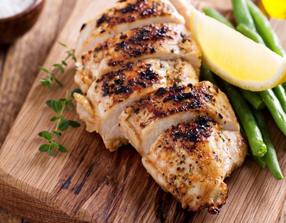 lemon garlic roast chicken weight loss recipe