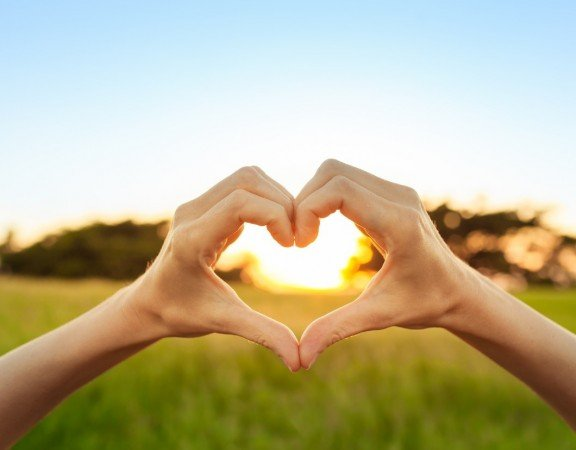 OnTrack Retreats - Heart Hands - Live Healthier and Love Yourself