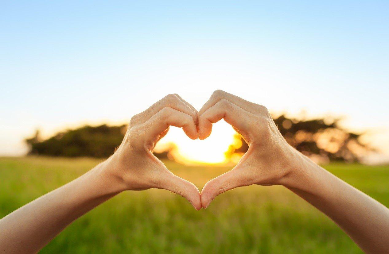 OnTrack Retreats - Heart Hands - Live Healthier and Love Yourself