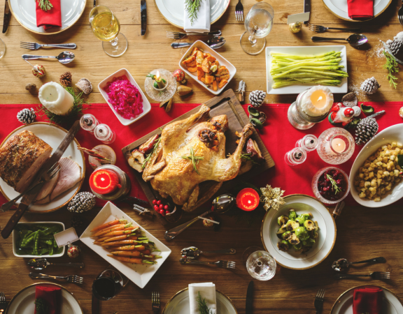 Christmas dinner weight loss