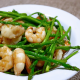 Prawn and asparagus salad
